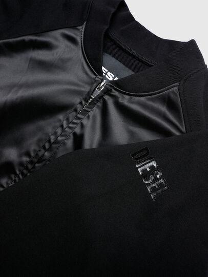 Diesel - UFLT-ABSAT, Black - Sweaters - Image 3