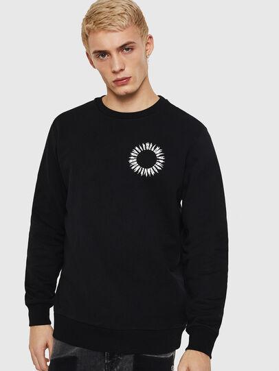 Diesel - S-GIR-A3, Black - Sweaters - Image 1