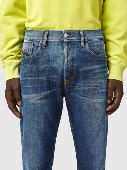 Diesel - D-Fining 09A96, Medium blue - Jeans - Image 3