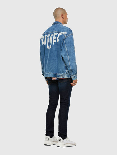 Diesel - D-RAF, Medium blue - Denim Jackets - Image 7