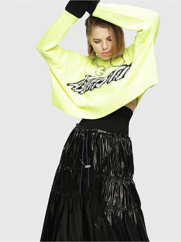 M-TICX, Yellow Fluo - Knitwear