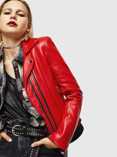 Diesel - L-CARAMA,  - Leather jackets - Image 5