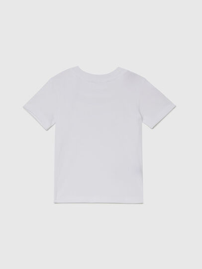 Diesel - TESSOB-R, White - T-shirts and Tops - Image 2