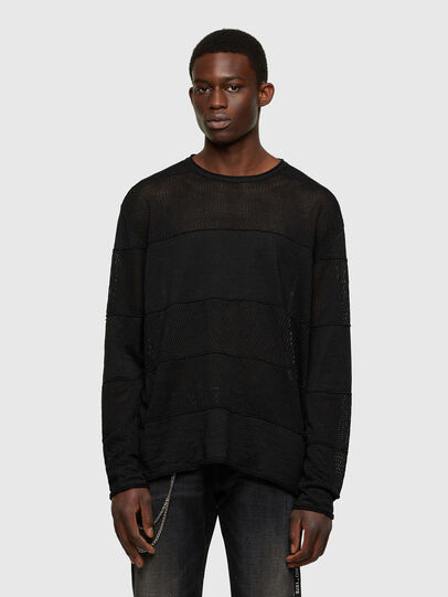 Diesel - K-MERCURY, Black - Knitwear - Image 1