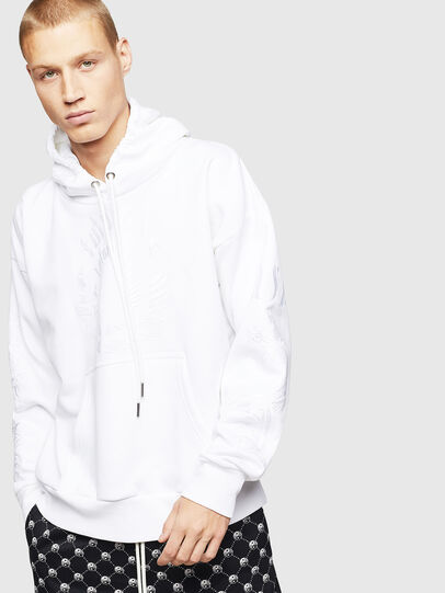 Diesel - S-ALBY-B5, White - Sweaters - Image 1