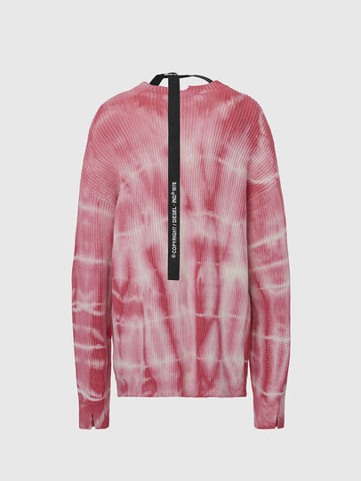 Diesel - M-INDIANA, Pink/White - Knitwear - Image 2