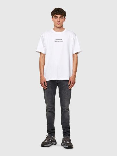 Diesel - T-TUBOLAR-B3, White - T-Shirts - Image 4