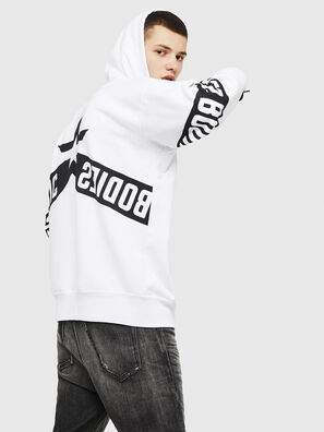 S-ALBY-ZIP-A1, White/Black - Sweaters
