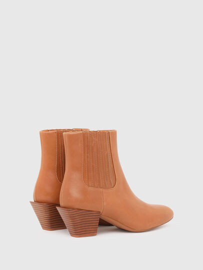 Diesel - D-TEXANNE CH, Light Brown - Ankle Boots - Image 3