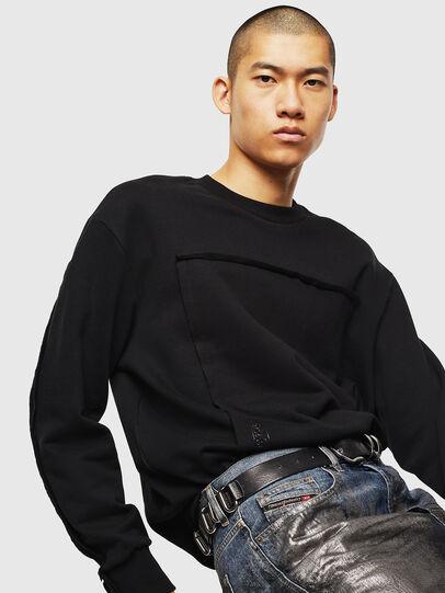 Diesel - S-BAY-RAW, Black - Sweaters - Image 4