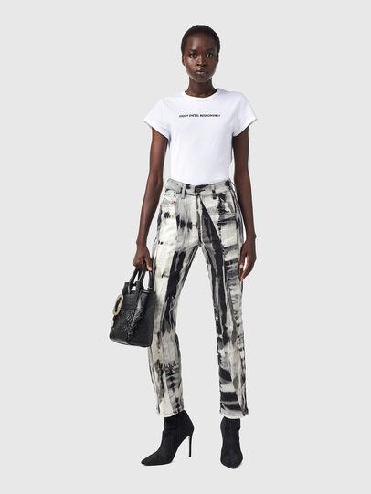 Diesel - D-Joy 09B36, Black/White - Jeans - Image 5