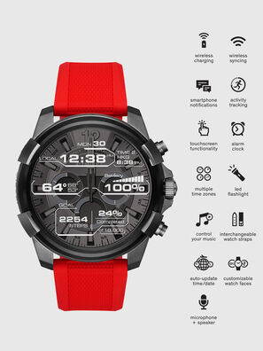 DT2006, Red - Smartwatches