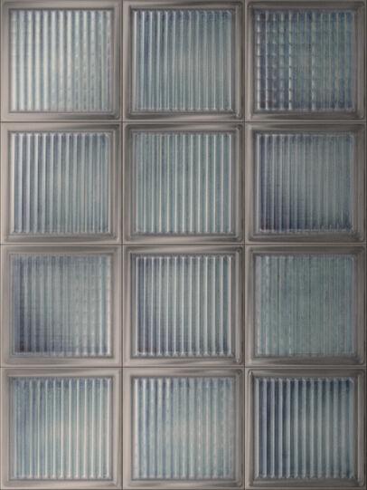 Diesel - GLASS BLOCKS - WALL TILES, Glass Azure - Ceramics - Image 1