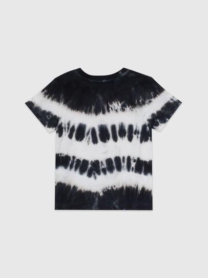 Diesel - TAREZB, Black/White - T-shirts and Tops - Image 2