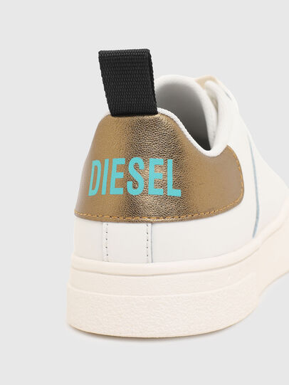 Diesel - S-CLEVER LOW LACE W, White/Bronze - Sneakers - Image 4