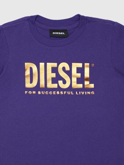 Diesel - TJUSTLOGOB-FL ML-R, Violet - T-shirts and Tops - Image 3