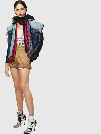 Diesel - L-MARALI,  - Leather jackets - Image 6