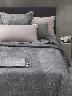 84030 URBAN TEXTURE, Grey - Duvet Cover Set