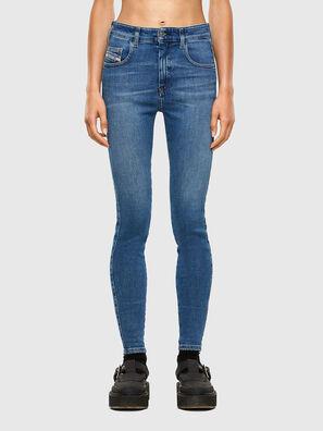 Slandy High 009AG, Medium blue - Jeans