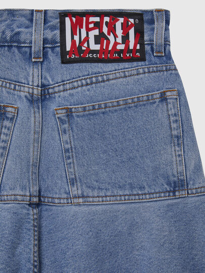Diesel - DE-BETHY, Light Blue - Skirts - Image 4