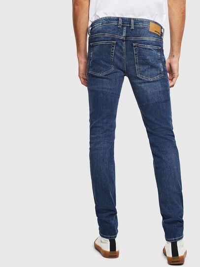 Diesel - Sleenker 0095F, Dark Blue - Jeans - Image 2