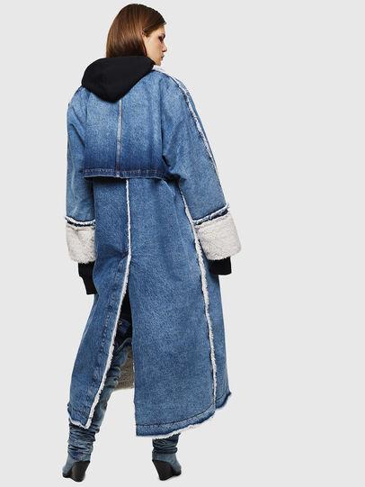 Diesel - DE-VALY, Medium blue - Winter Jackets - Image 2