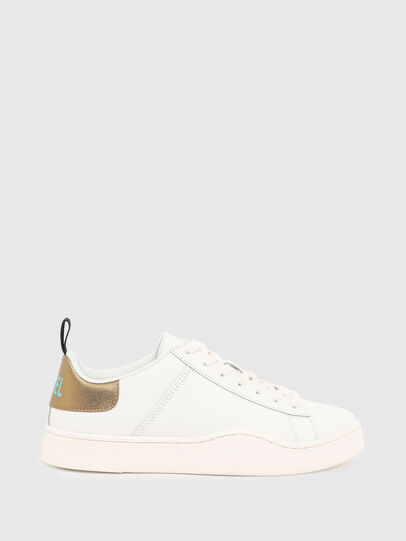 Diesel - S-CLEVER LOW LACE W, White/Bronze - Sneakers - Image 1
