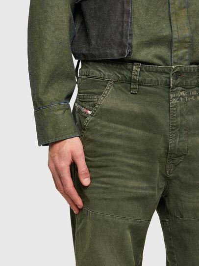 Diesel - D-Azerr JoggJeans® 069WH, Military Green - Jeans - Image 5