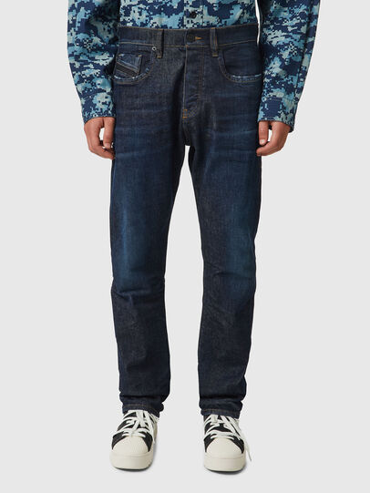 Diesel - D-Viker 09B45, Dark Blue - Jeans - Image 1