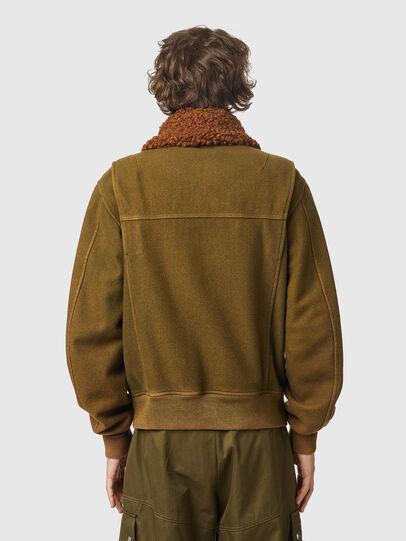 Diesel - W-WELTOM, Olive Green - Winter Jackets - Image 2