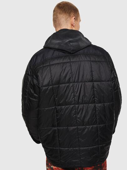 Diesel - J-WELLES, Black - Winter Jackets - Image 2