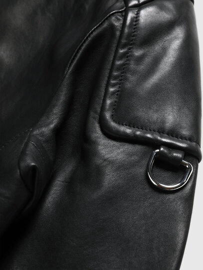 Diesel - US-L-CODY, Black - Leather jackets - Image 6