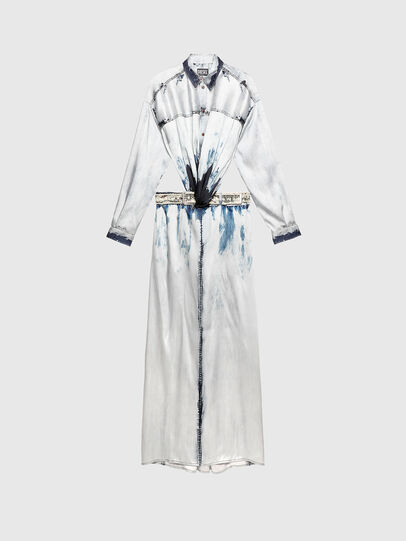 Diesel - D-SUKI, Light Blue - Dresses - Image 1