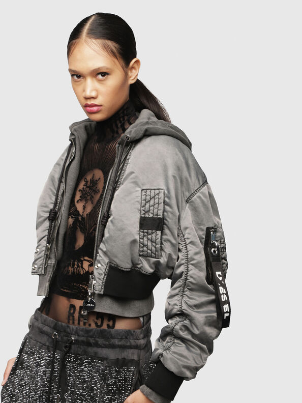 G-IKUE, Grey - Jackets