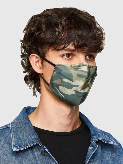 Diesel - FACEMASK-CAMU, Military Green - Other Accessories - Image 2