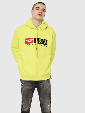 S-DIVISION, Yellow Fluo - Sweaters