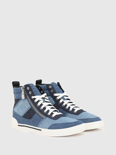 Diesel - S-DVELOWS MID CUT, Blue - Sneakers - Image 2