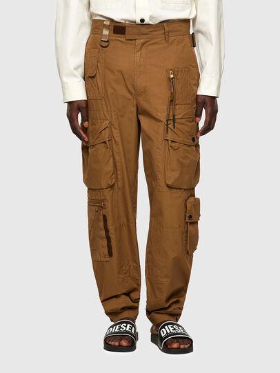 Diesel - P-GAGE, Light Brown - Pants - Image 1