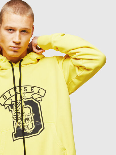 Diesel - S-ALBY-B8, Yellow - Sweaters - Image 3
