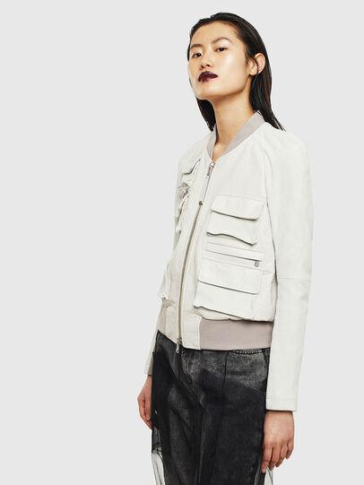 Diesel - L-CERITE,  - Leather jackets - Image 4
