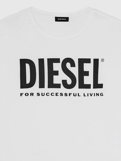 Diesel - T-DIEGO-LOGO, White - T-Shirts - Image 3