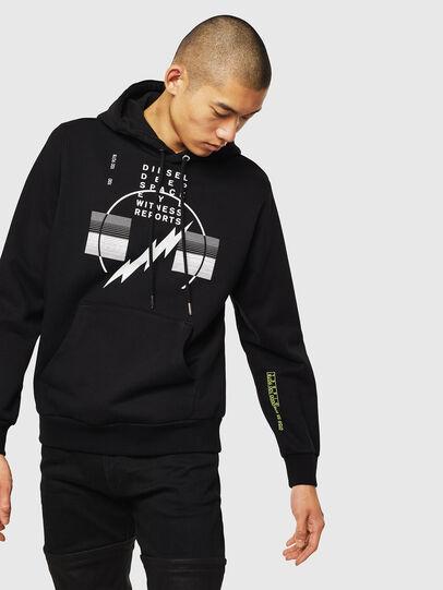 Diesel - S-GIRK-HOOD-J5,  - Sweaters - Image 1