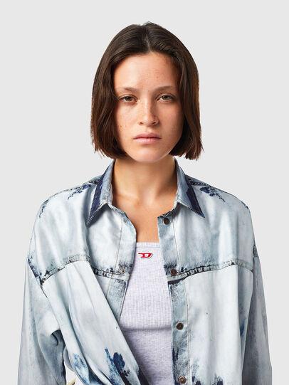 Diesel - C-SUKI, Light Blue - Shirts - Image 4
