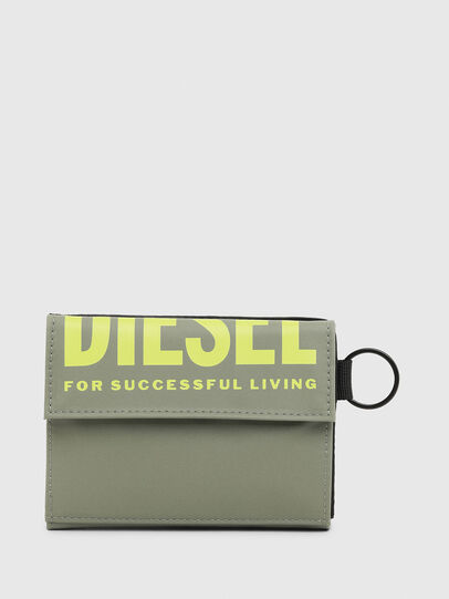 Diesel - YOSHI II, Olive Green - Small Wallets - Image 1