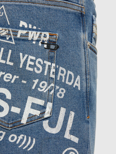 Diesel - D-Strukt 009DX, Light Blue - Jeans - Image 5