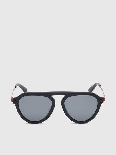 Diesel - DL0277, Black/Red - Sunglasses - Image 1