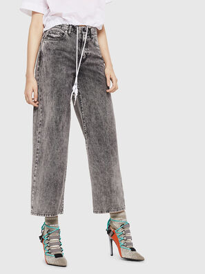 Widee 069EB, Black/Grey - Jeans