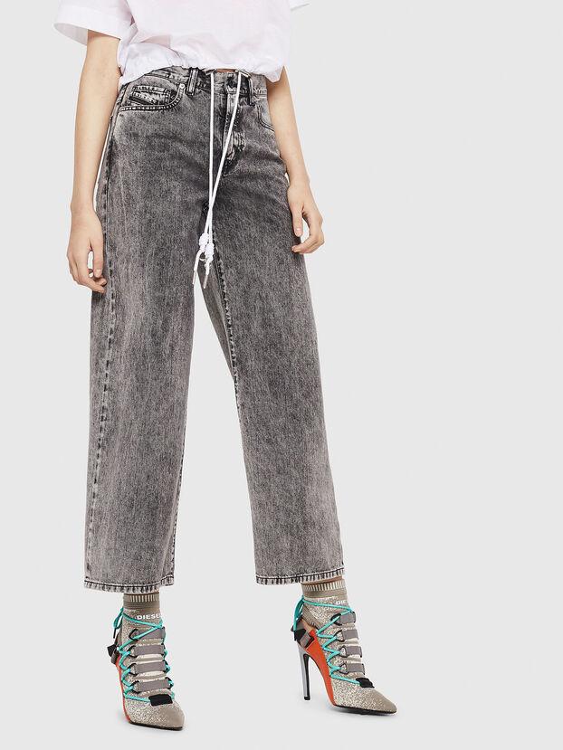 Widee 069EB, Black/Grey - Jeans