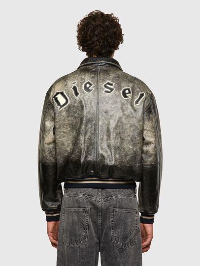 Diesel - DxD-2, Black - Leather jackets - Image 4