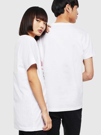Diesel - CL-T-DIEGO-1, White - T-Shirts - Image 3